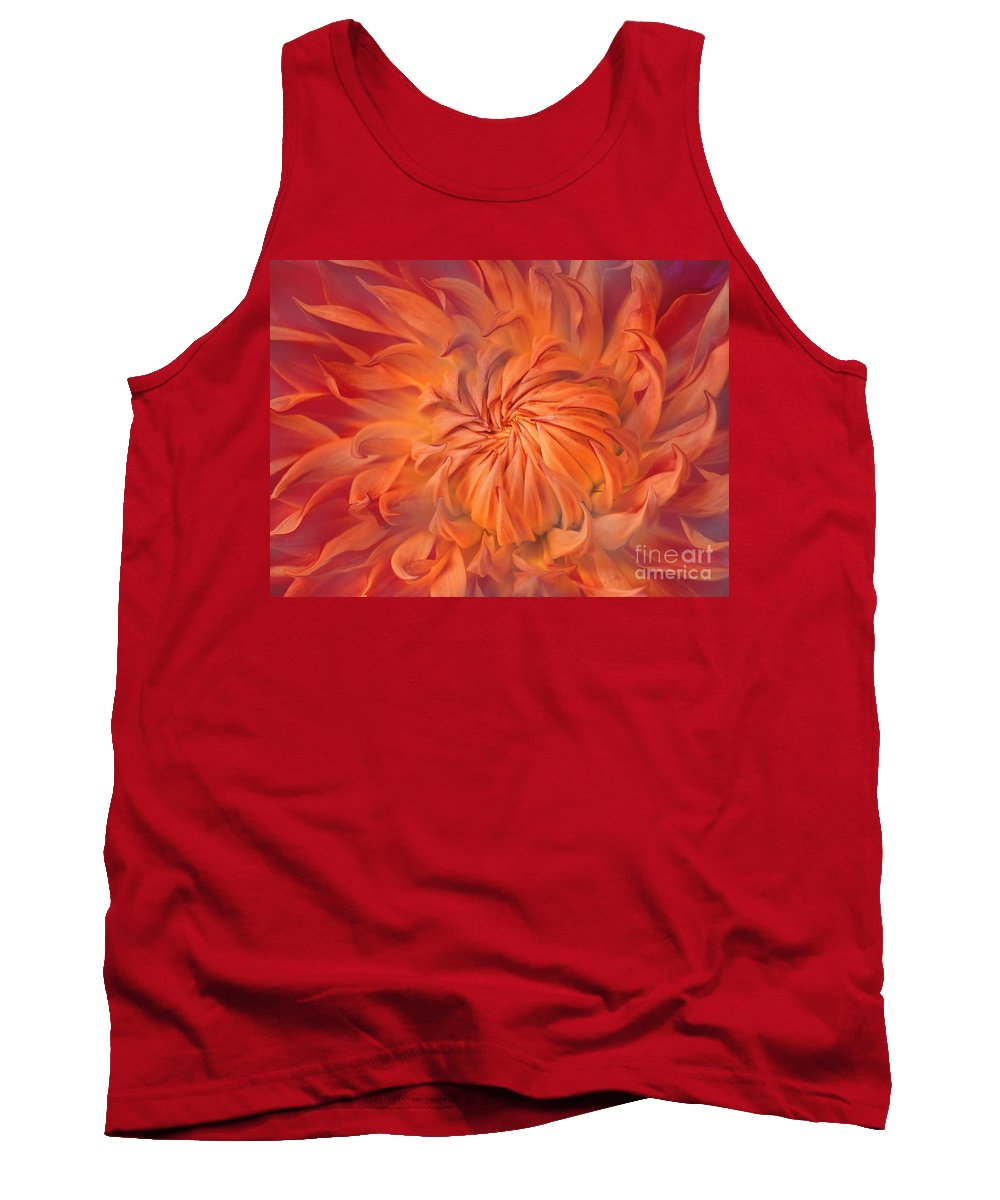 Flower Tank Top featuring the photograph Flame by Jacky Gerritsen
