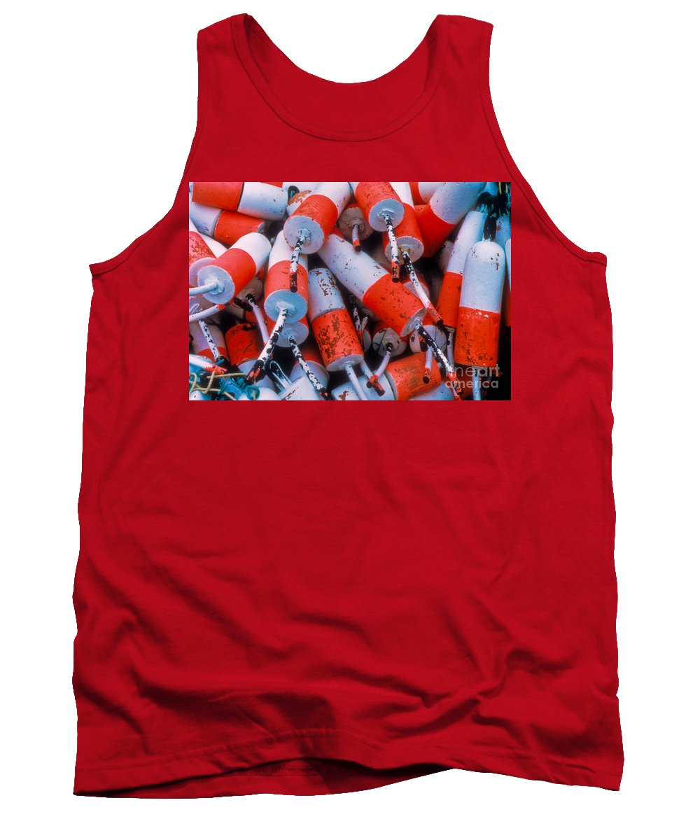Floats Tank Top featuring the photograph Floats by Thomas Marchessault