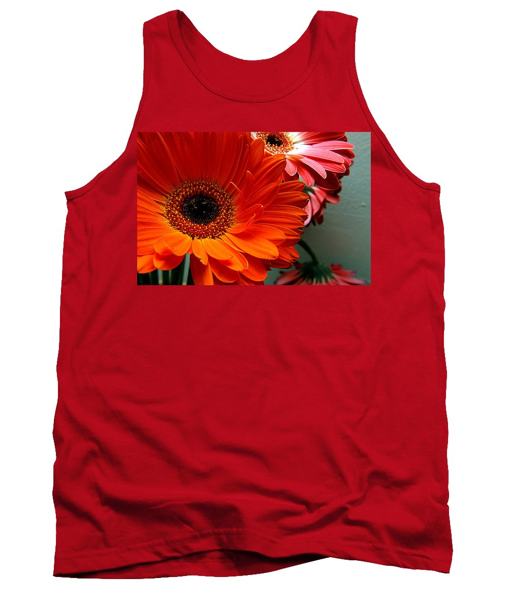 Clay Tank Top featuring the photograph Floral Art by Clayton Bruster