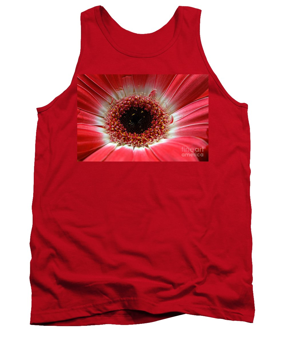 Clay Tank Top featuring the photograph Floral Eye by Clayton Bruster