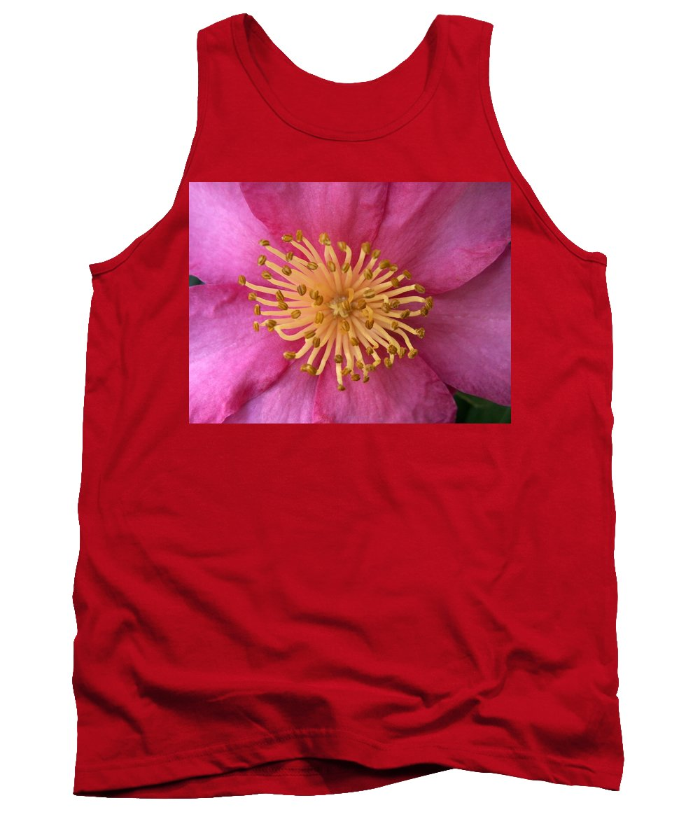 Flowers Tank Top featuring the photograph Flower Macro by Amy Fose