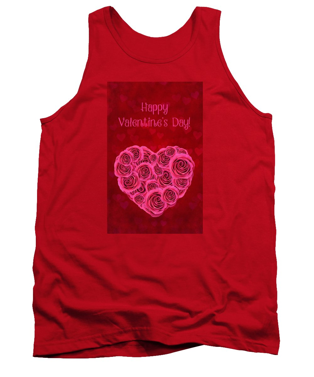 Heart Tank Top featuring the photograph For You, For Love by Iryna Goodall