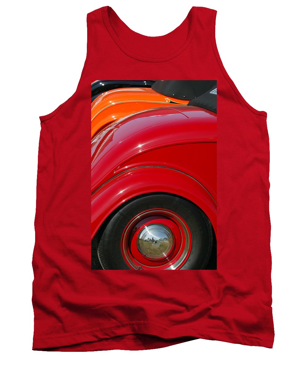 Car Tank Top featuring the photograph Ford Roadsters by Jill Reger
