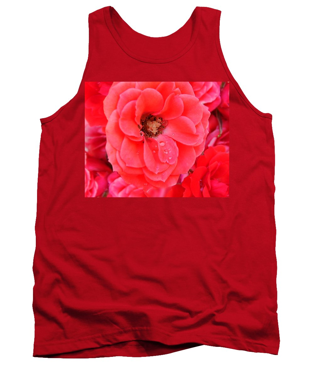 Roses Tank Top featuring the photograph Full Bloom by Anthony Jones