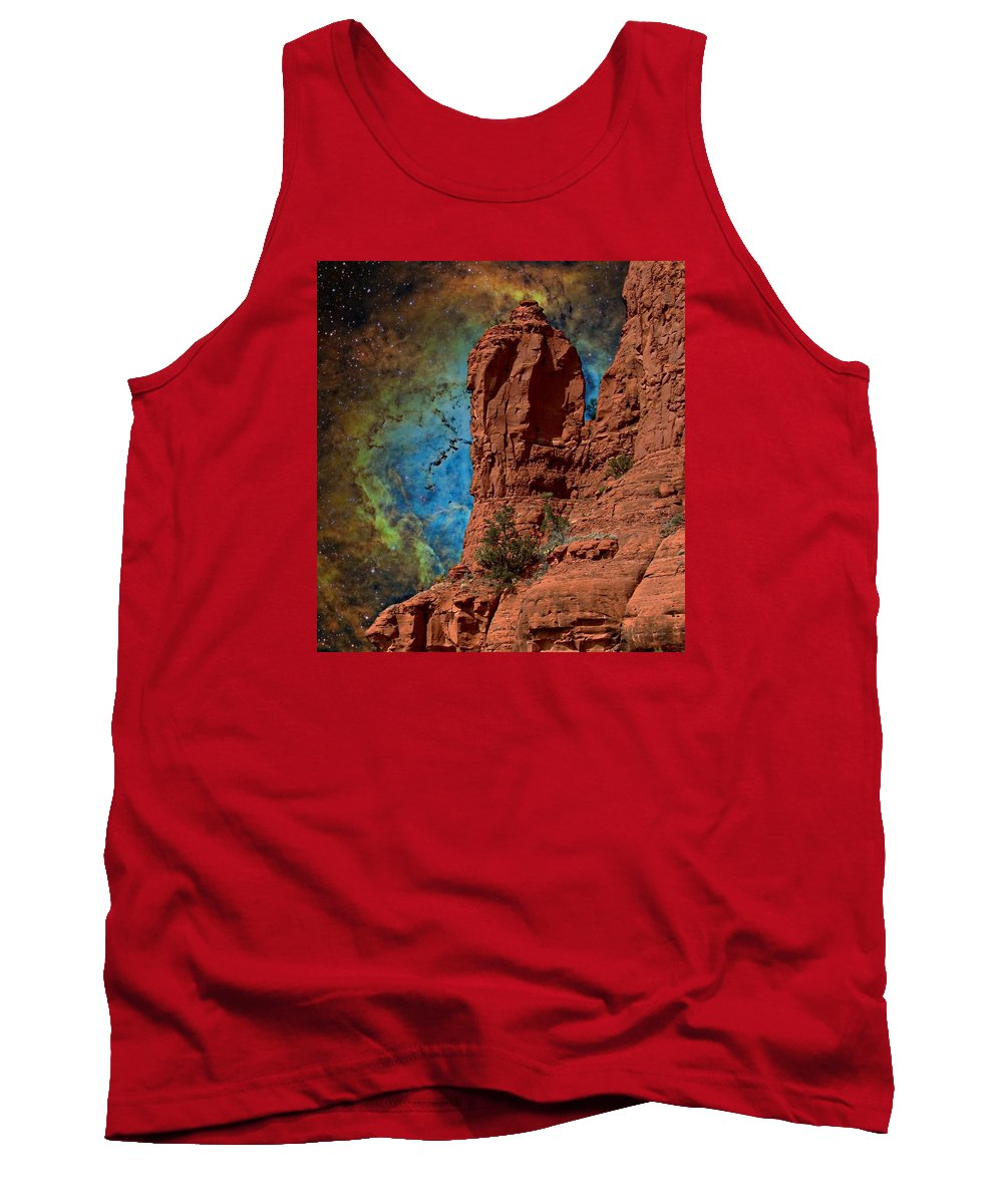 Nasa Art Tank Top featuring the photograph Gateway To The Vortex by Barbara Chichester