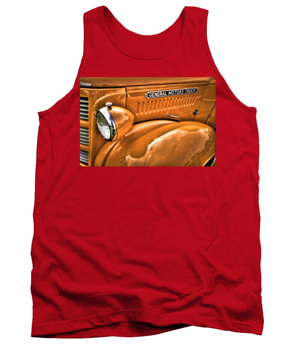 Transportation Tank Top featuring the photograph General by Jerry Golab
