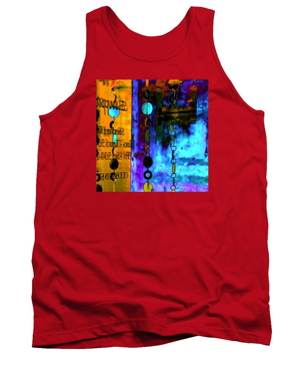 Abstract Tank Top featuring the photograph Genisis 1 by Deb Cohen