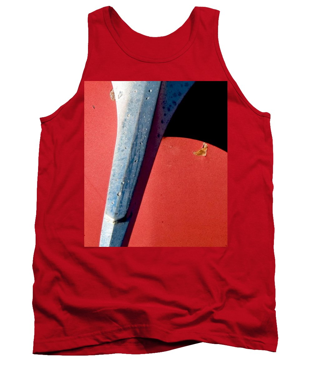 Classic Cars Tank Top featuring the photograph Gm Old Glory by Norman Andrus