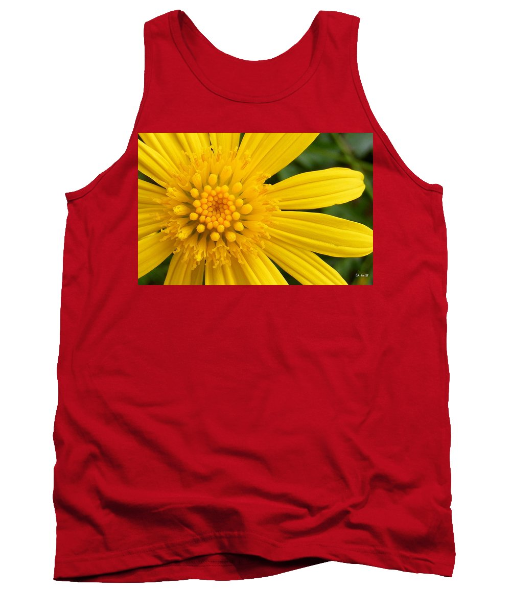 Good Morning Sunshine Tank Top featuring the photograph Good Morning Sunshine by Ed Smith