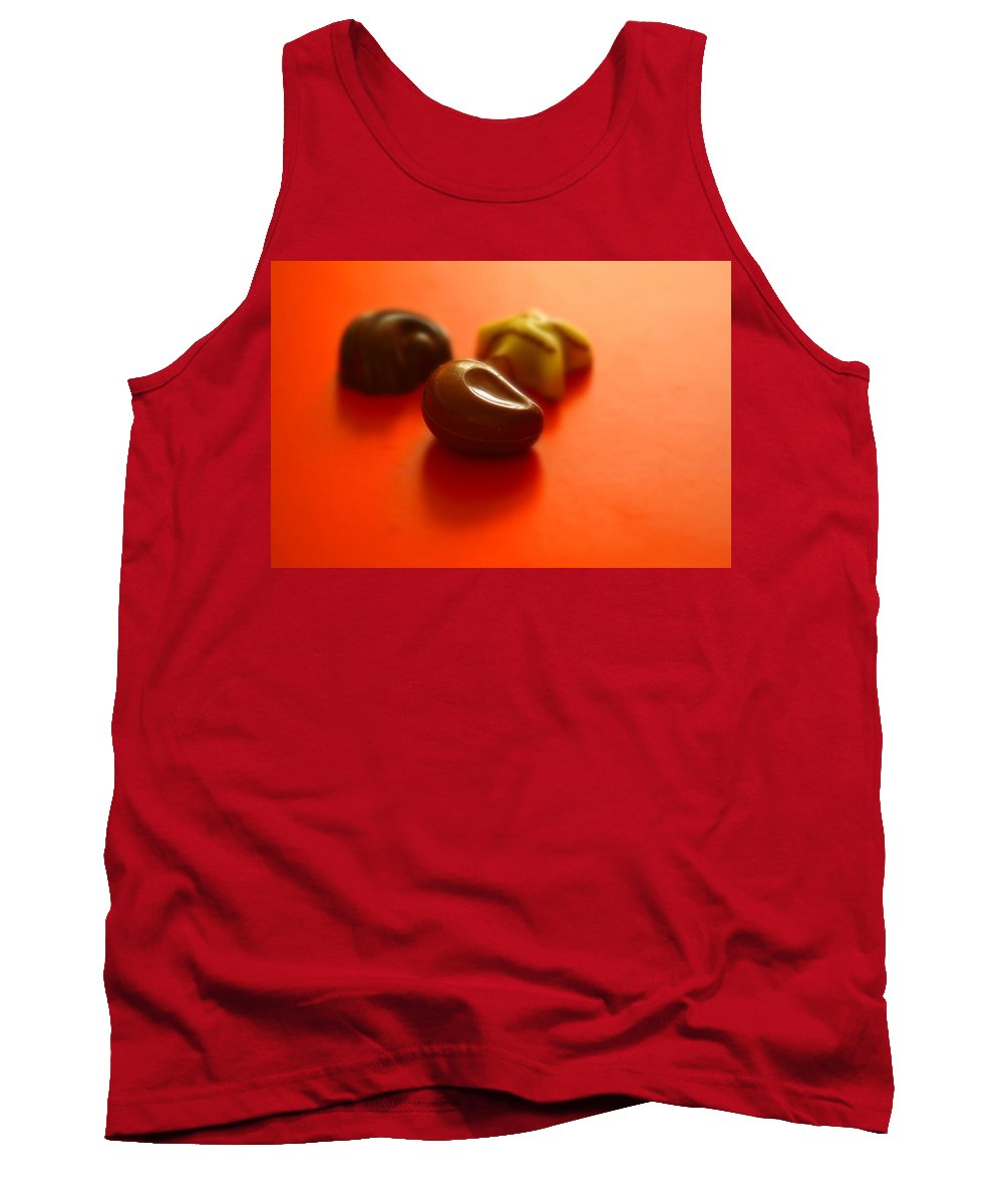 Still Life Tank Top featuring the photograph Guilty Pleasures by Evelina Kremsdorf