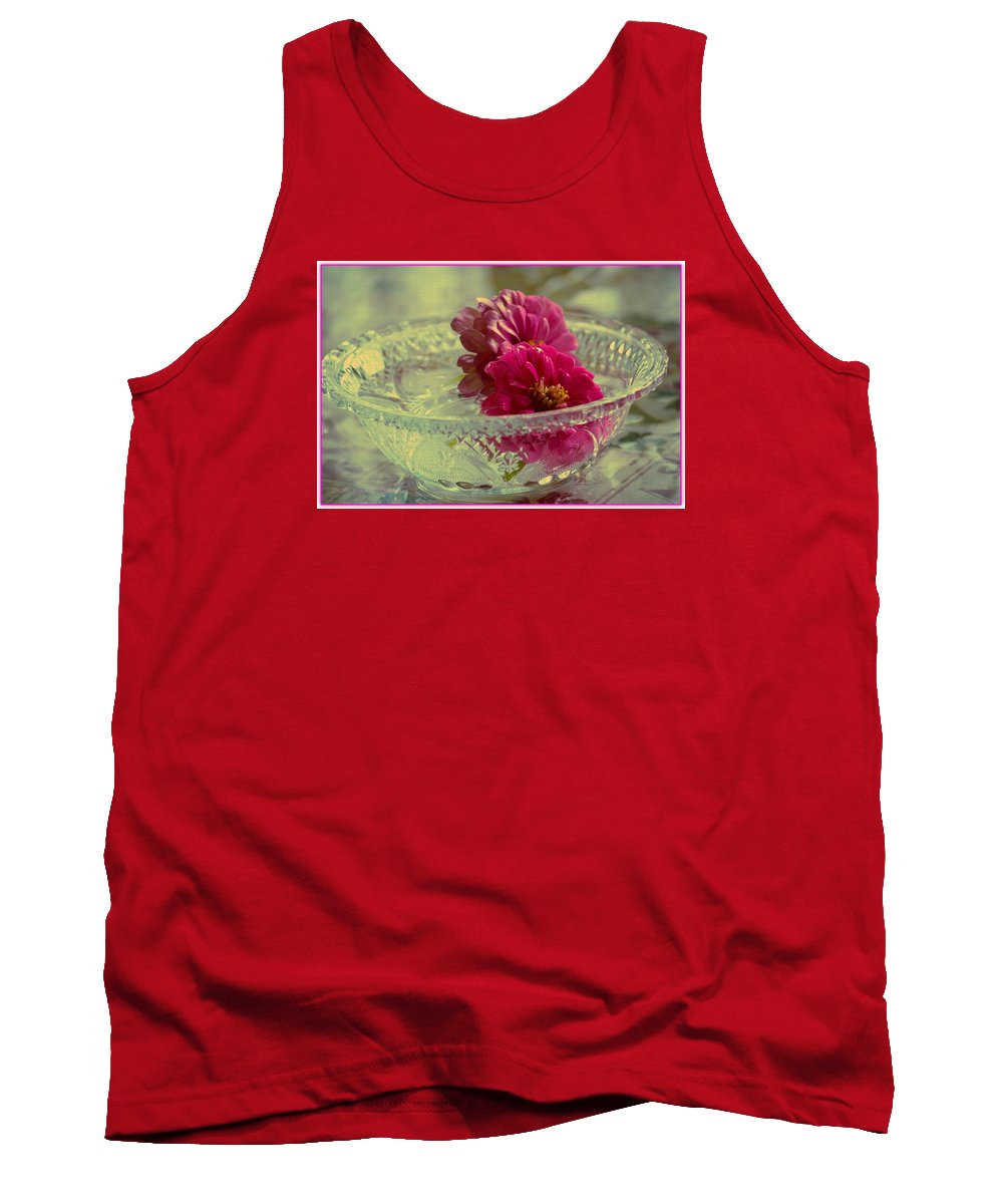 Floral Art Tank Top featuring the photograph Happy Moments by Sonali Gangane