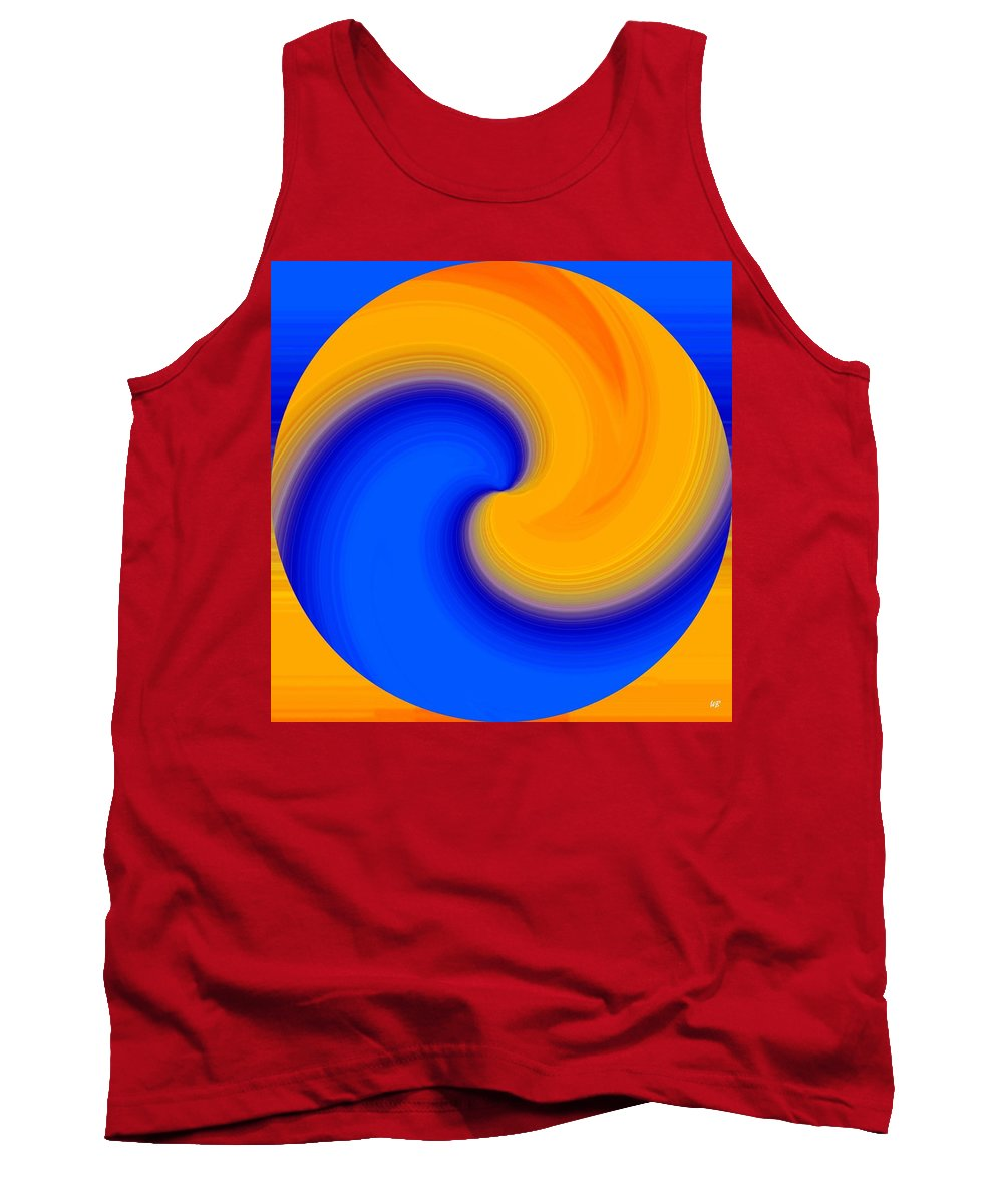Abstract Tank Top featuring the digital art Harmony 23 by Will Borden