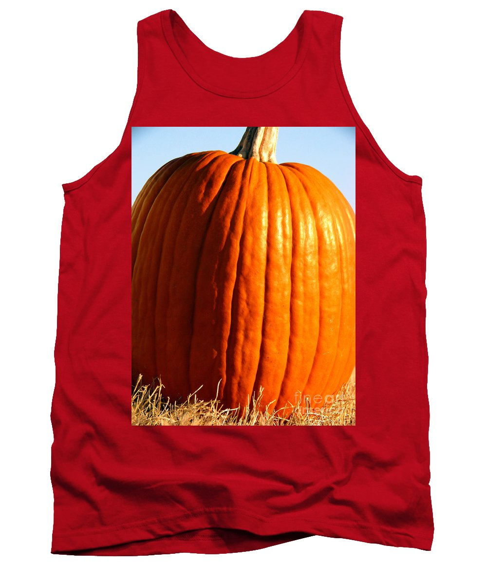 Pumpkin Tank Top featuring the photograph Harvest by Amanda Barcon