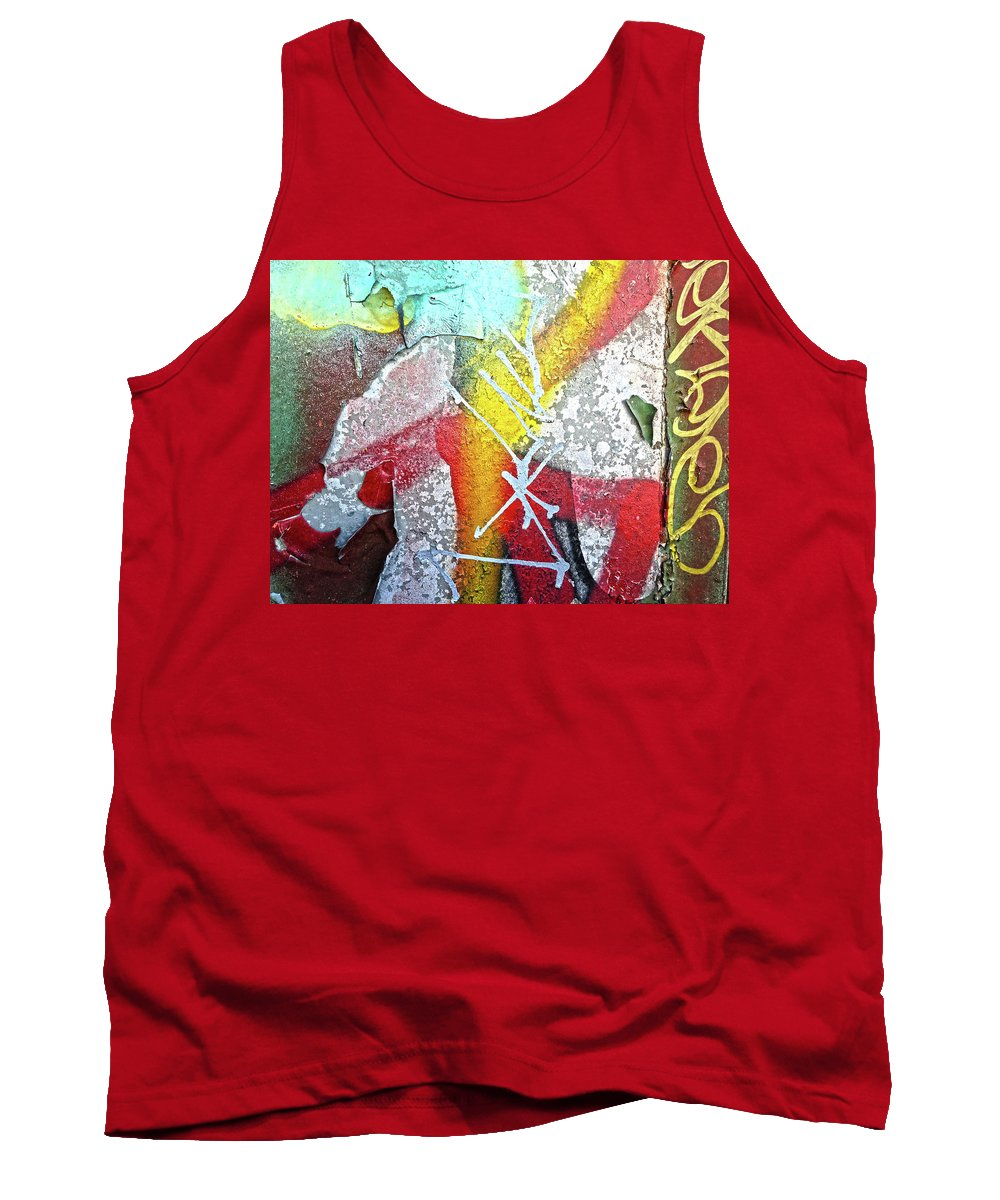 Graffiti Tank Top featuring the digital art Have Some Kool-aid by Dan Reich