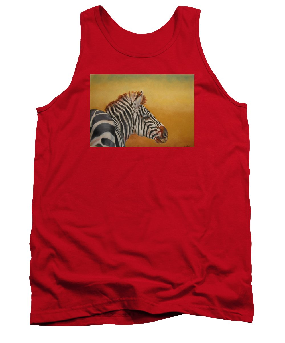 Africa Tank Top featuring the painting Hello Africa by Ceci Watson