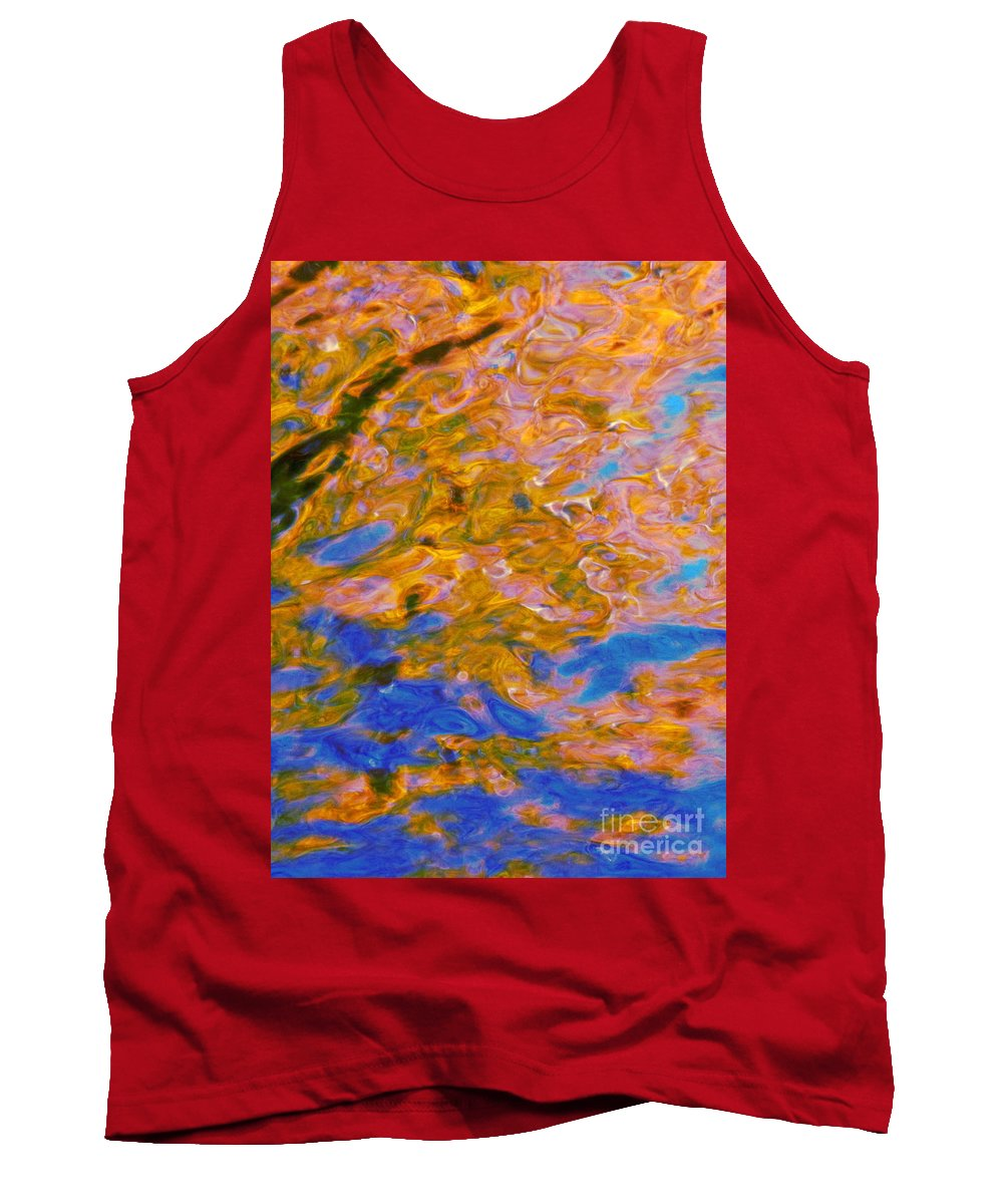 Water Art Tank Top featuring the photograph Hidden Dimensions by Sybil Staples