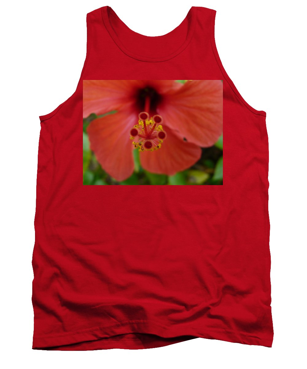 High Tank Top featuring the photograph High Five by Valerie Ornstein