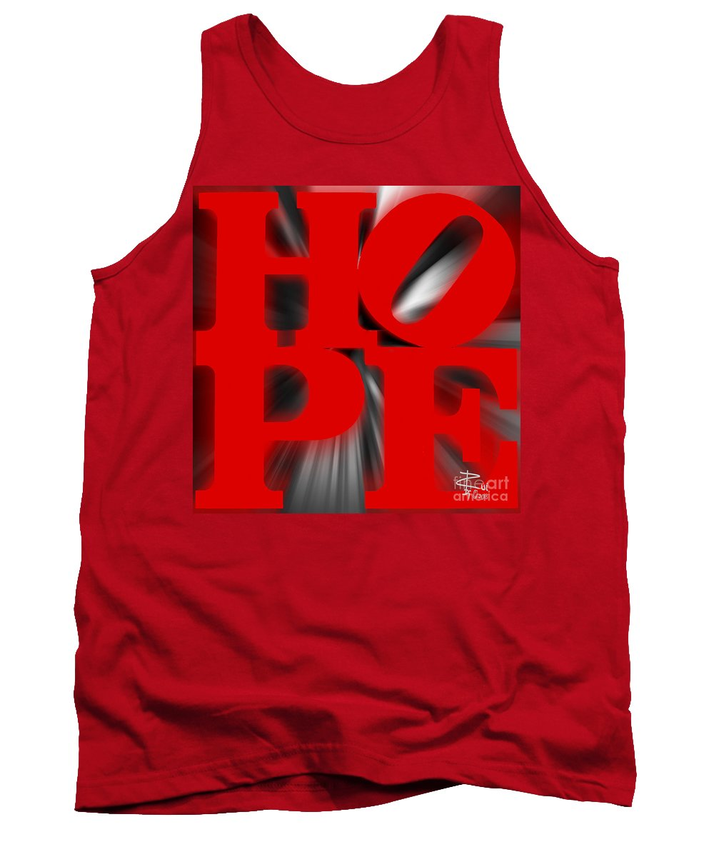 Hope Tank Top featuring the photograph Hope by Rui DeGouveia