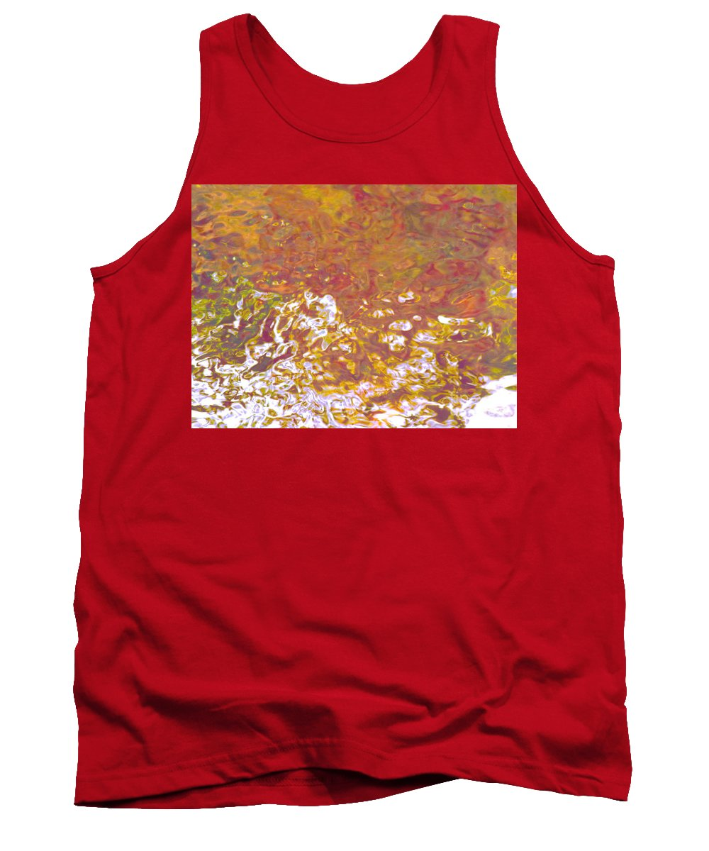 Abstract Tank Top featuring the photograph Forces Of Love Breaking Through by Sybil Staples