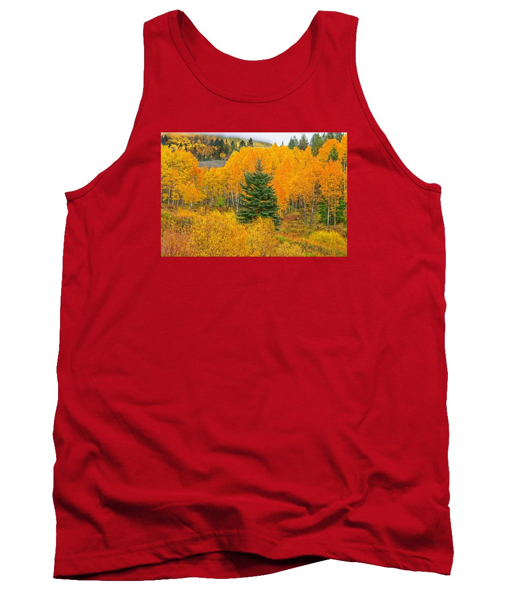 Ohio Pass Tank Top featuring the photograph I'll Never Forget That Day. by Bijan Pirnia