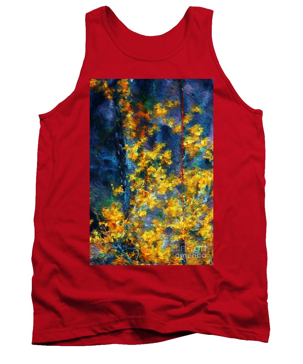 Nature Tank Top featuring the photograph In The Woods Again by David Lane