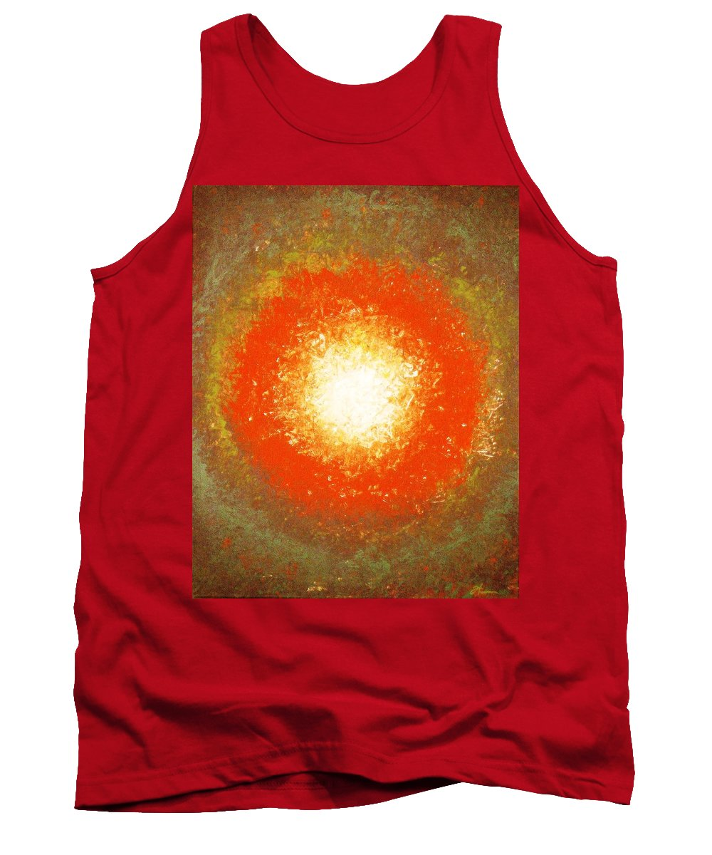 Original Tank Top featuring the painting Inception by Todd Hoover