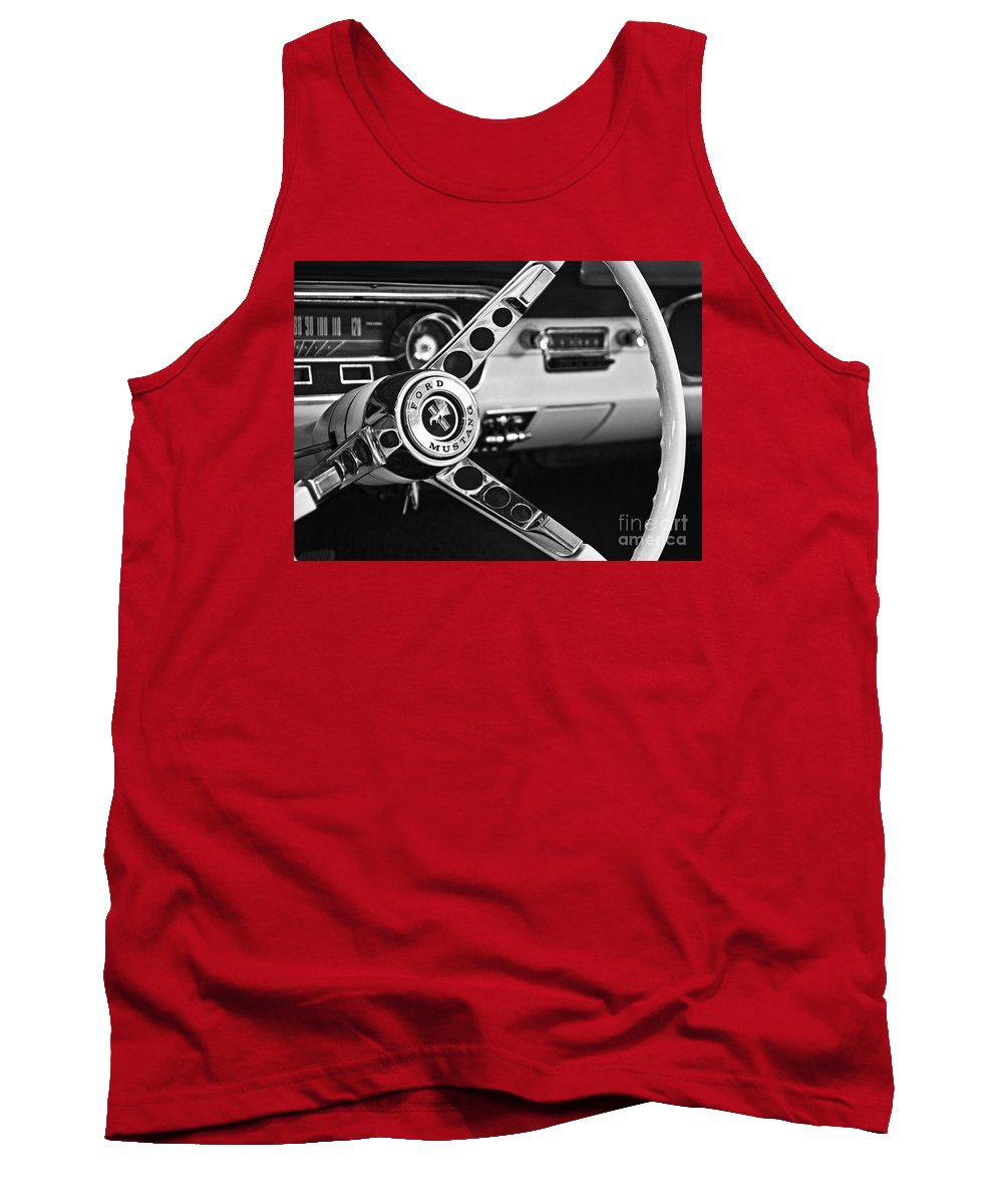 Ford Mustang Tank Top featuring the photograph It's A Stang Thing by Betty Doran