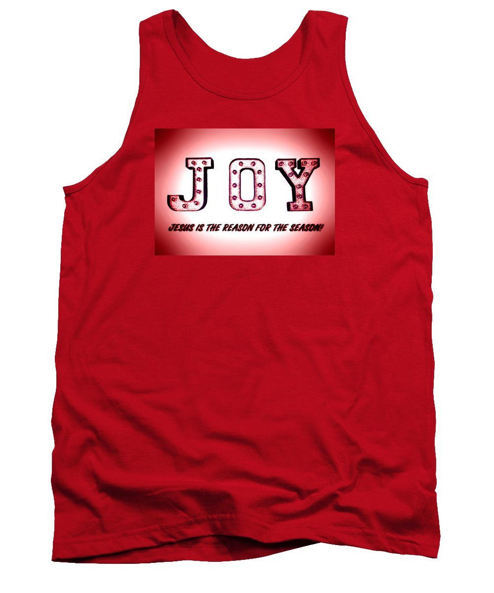 Landscape Tank Top featuring the photograph Jesus Is The Reason For The Season by Morgan Carter