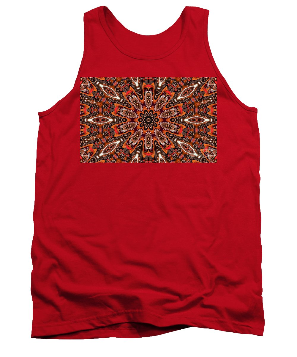 Kaleidoscope Tank Top featuring the photograph Kaleidoscope 85 by Ron Bissett