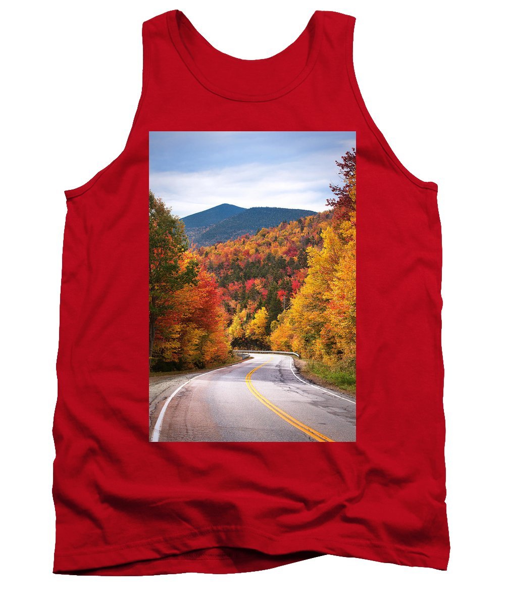 Kancamagus Tank Top featuring the photograph Kancamagus Highway by Eric Gendron