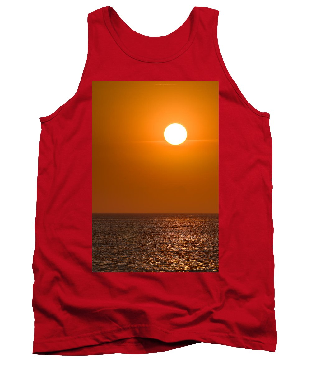 Chicago Tank Top featuring the photograph Lake Michigan Sunrise Chicago by Steve Gadomski