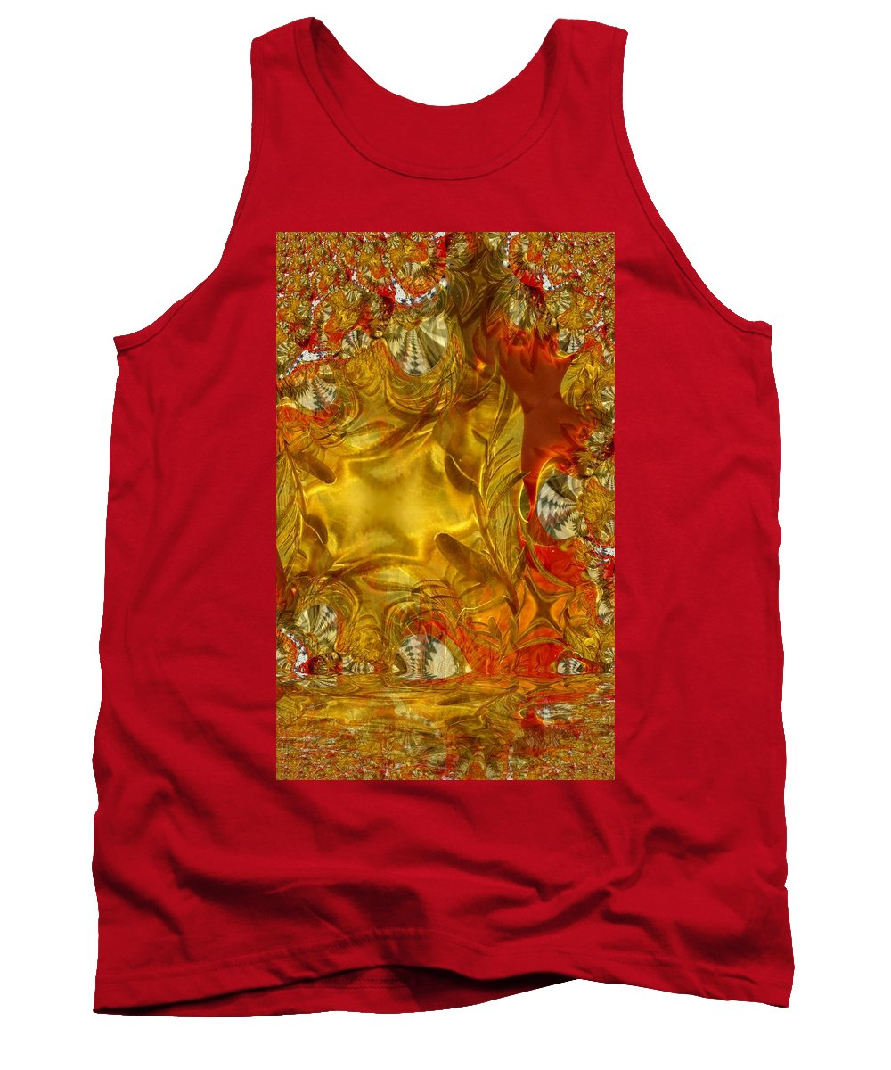 Olive Tank Top featuring the photograph Land Of Oil And Honey by Ron Bissett