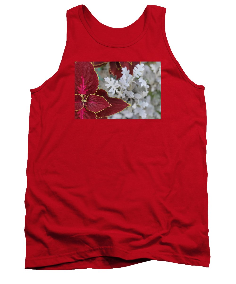 Leaf Tank Top featuring the photograph Leaf by Arundhati Shenoy