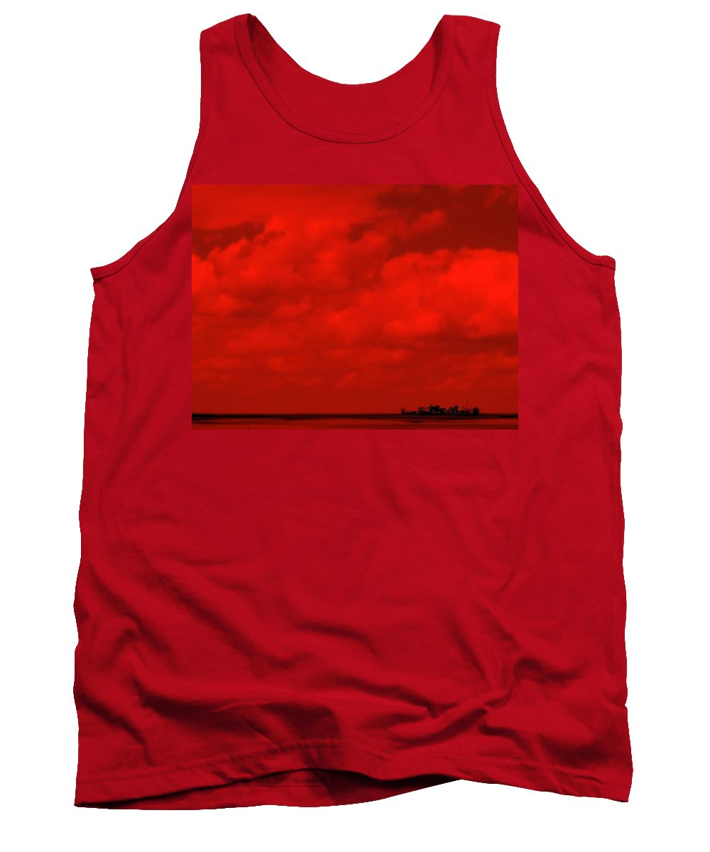 Sky Tank Top featuring the photograph Life On Mars by Ed Smith