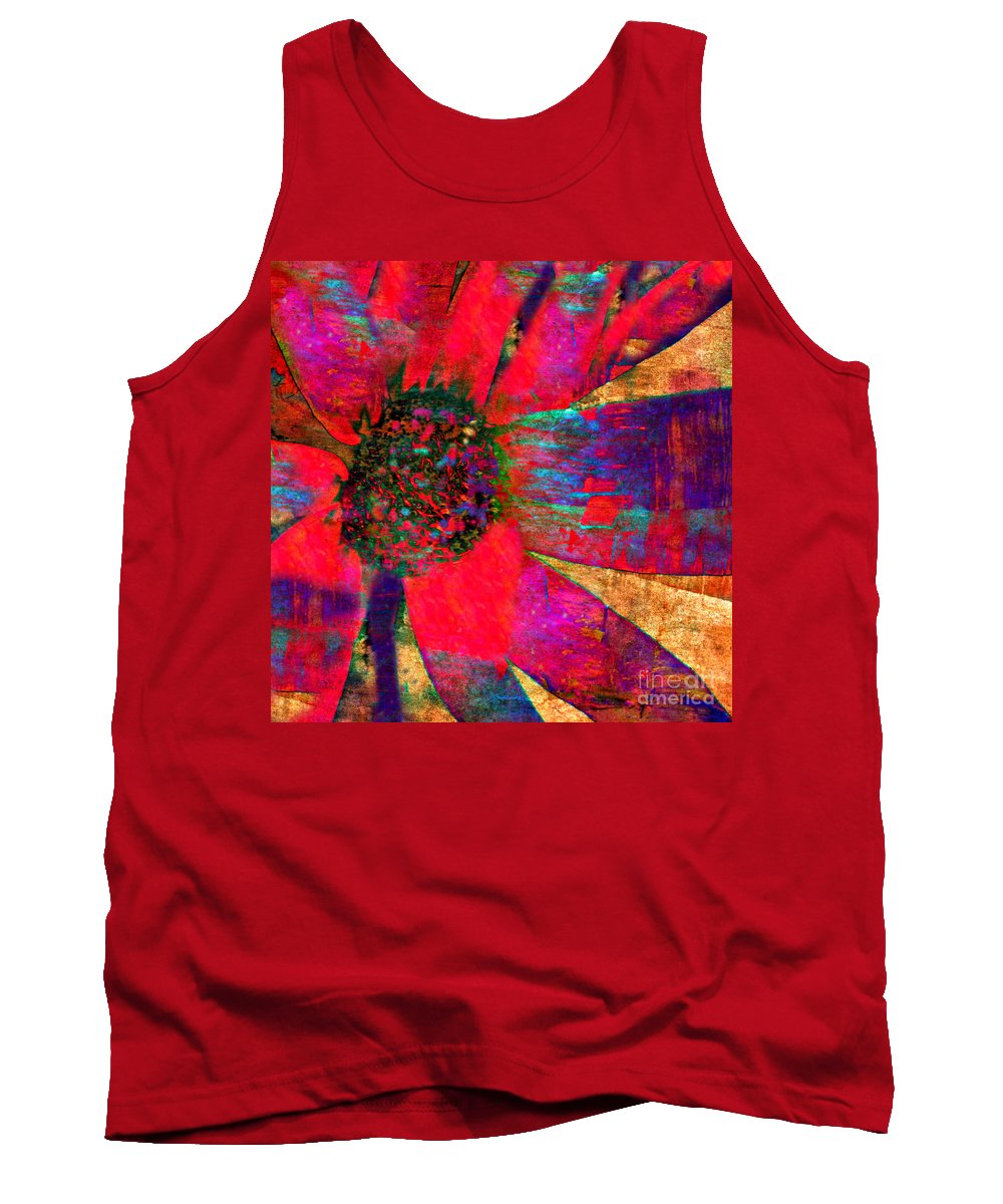 Anne Alfaro Tank Top featuring the photograph Living Color by Anne Alfaro