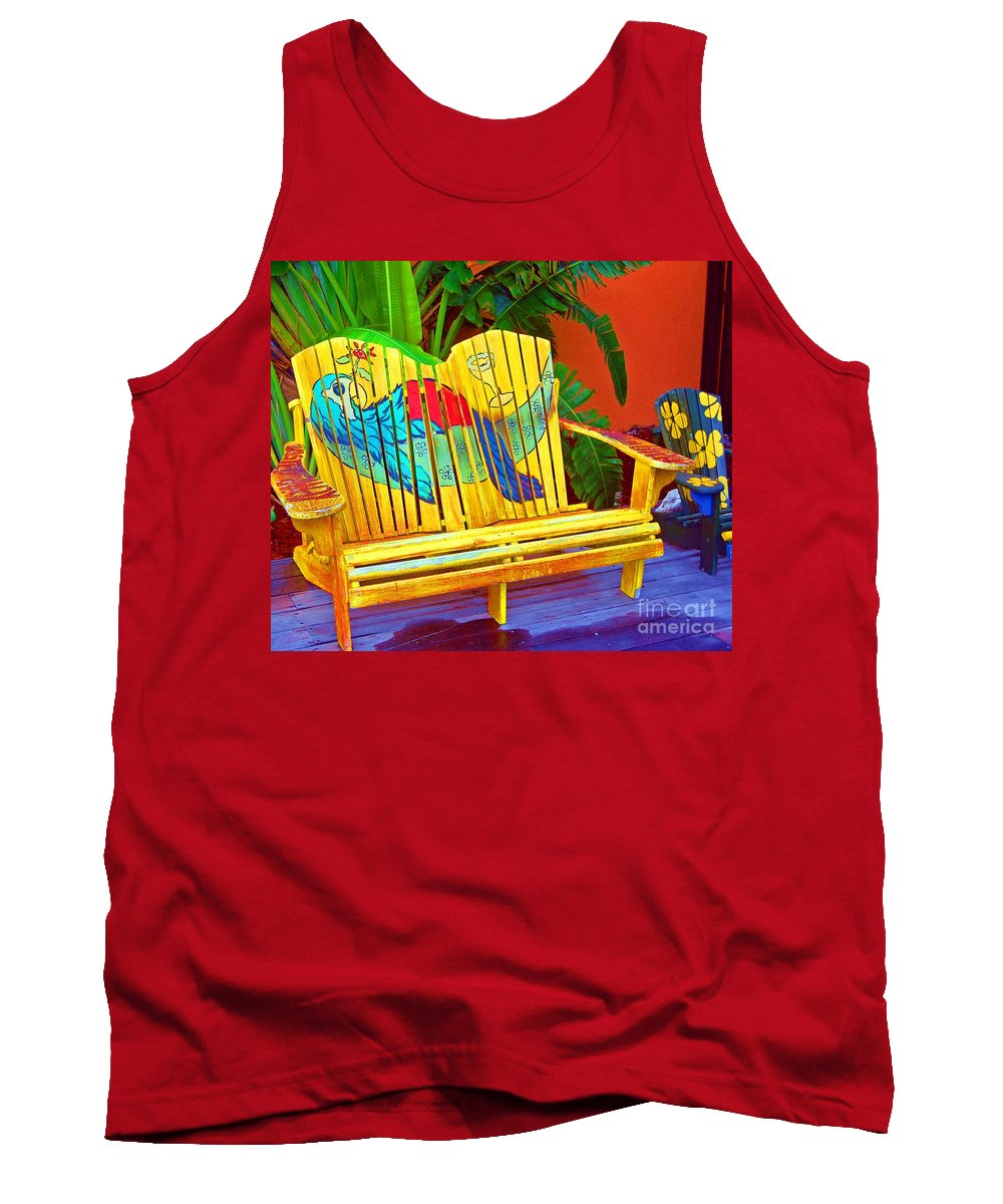 Tropical Tank Top featuring the photograph Lost Shaker Of Salt 2 by Debbi Granruth