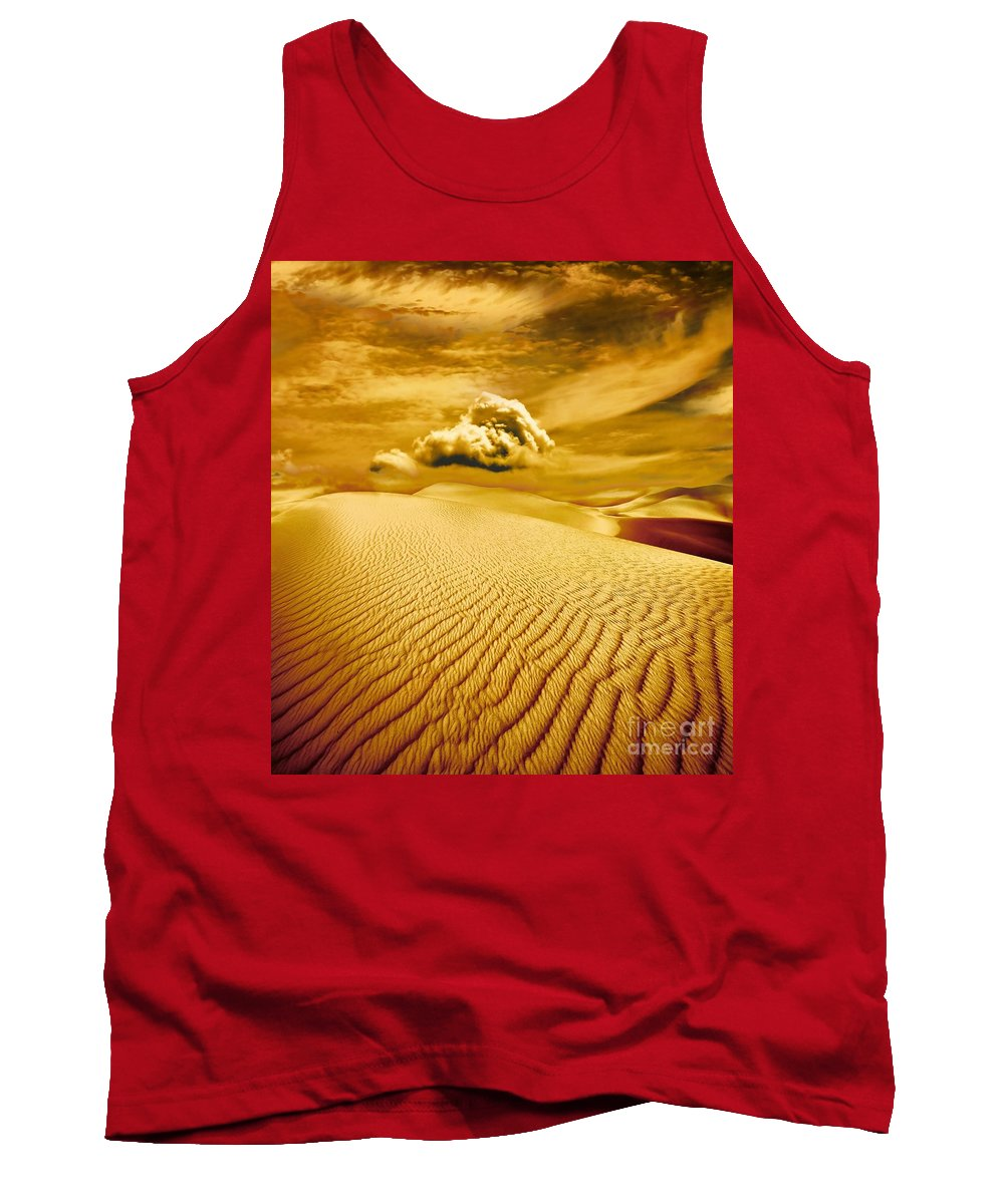 Desert Tank Top featuring the photograph Lost Worlds by Jacky Gerritsen