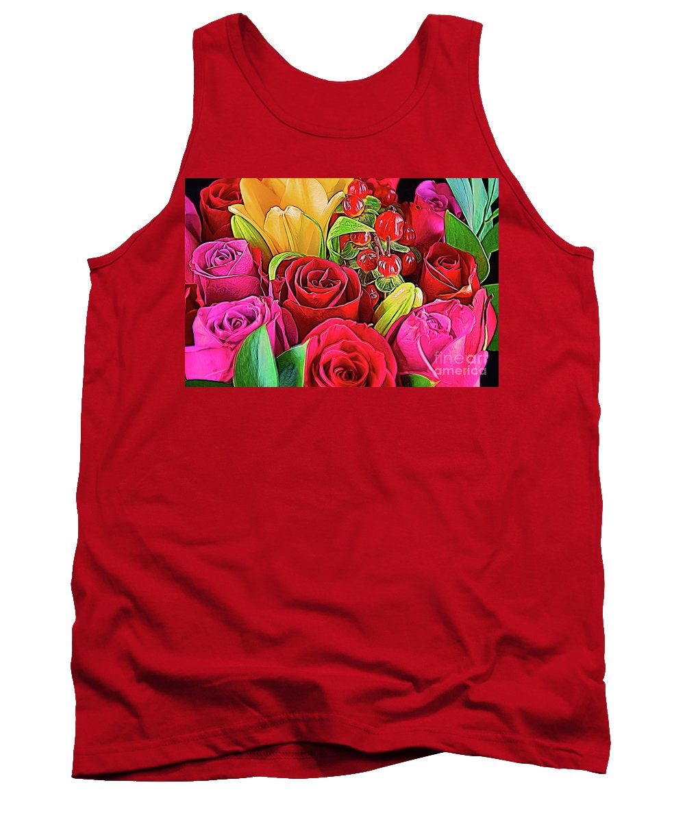 Love 18-3 Tank Top featuring the photograph Love 18-3 by Ray Shrewsberry