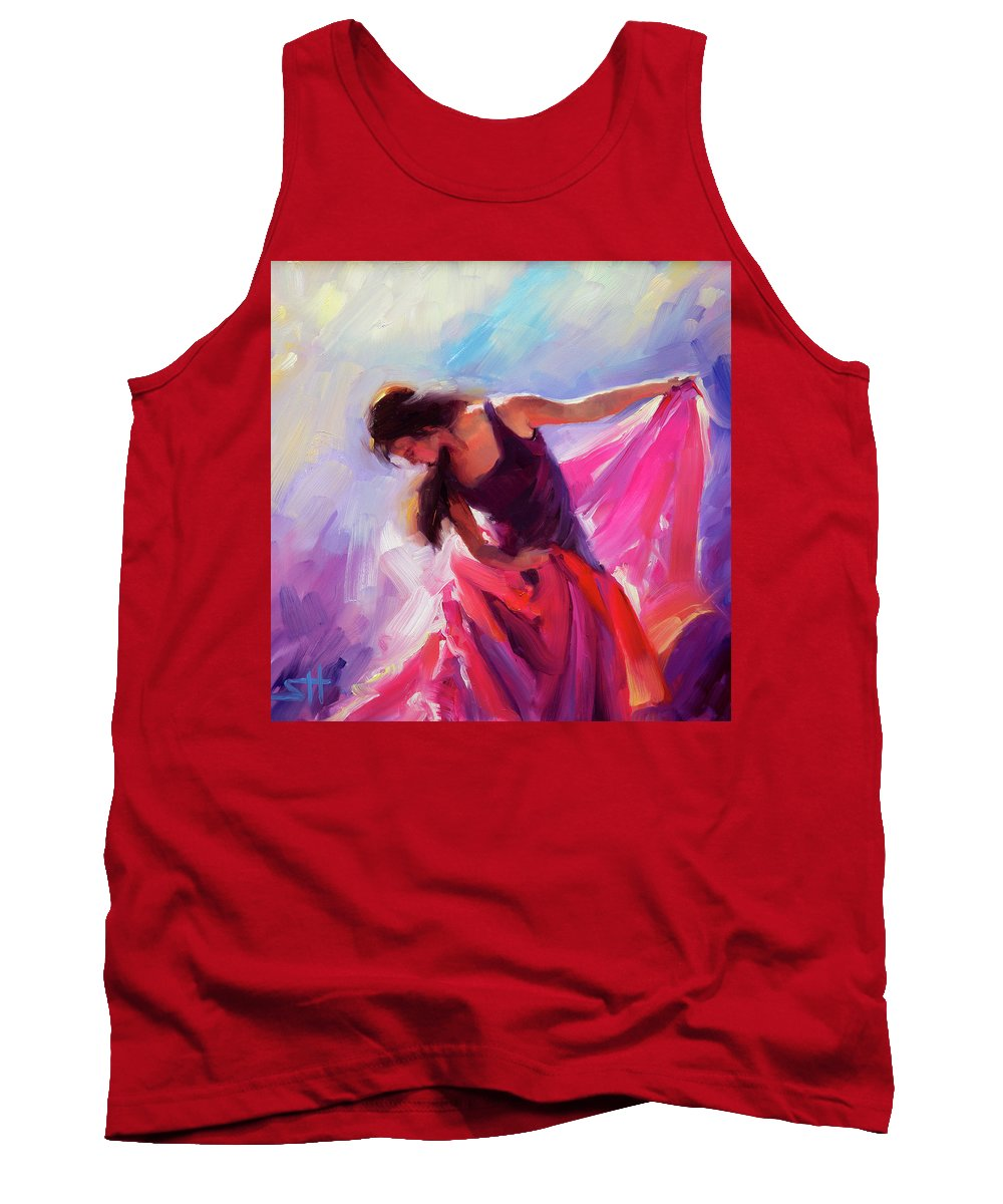 Woman Tank Top featuring the painting Magenta by Steve Henderson