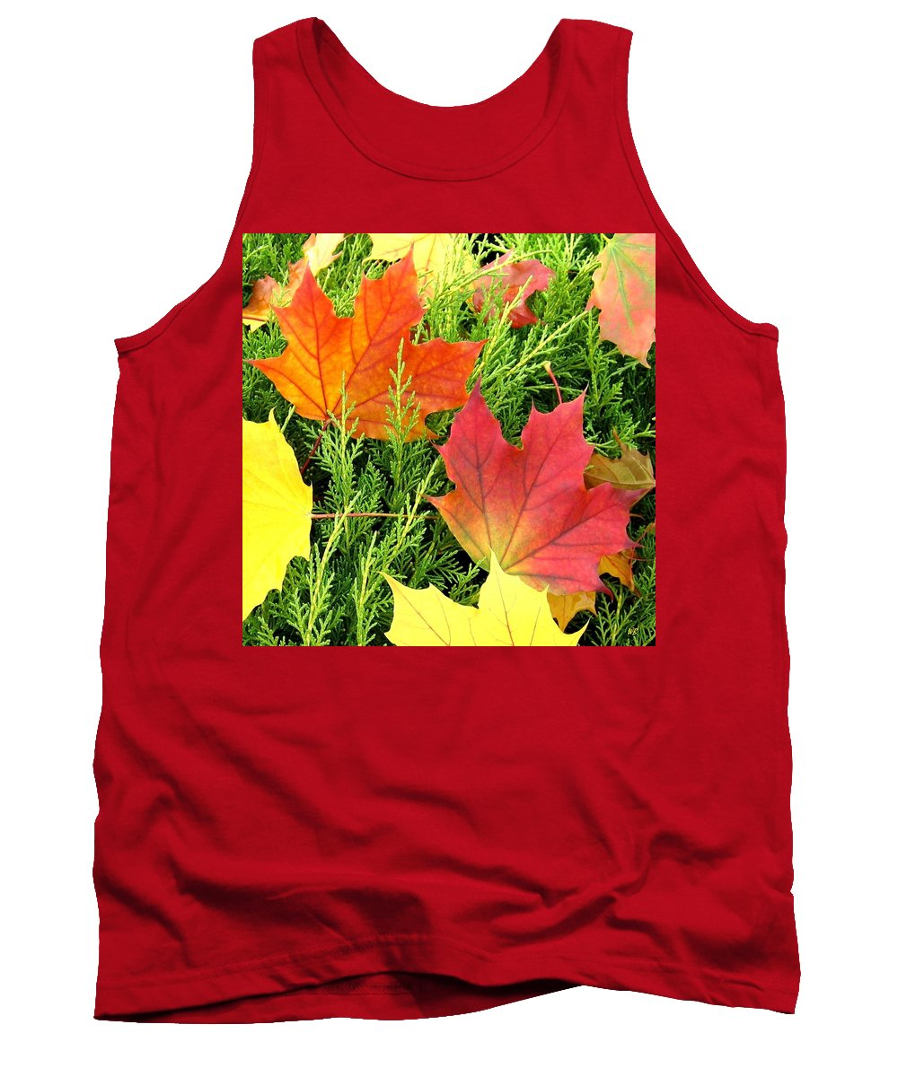 Autumn Tank Top featuring the photograph Maple Mania 5 by Will Borden
