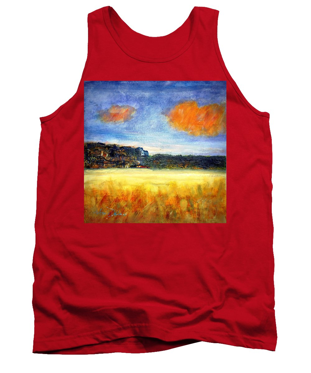 Tank Top featuring the painting Mesa by Martha Dolan