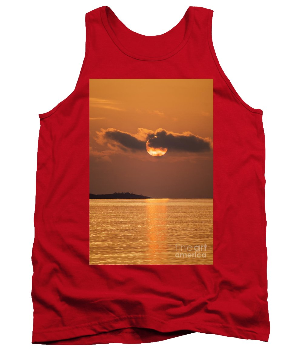 Borough Tank Top featuring the photograph Mood Lighting by Joe Geraci