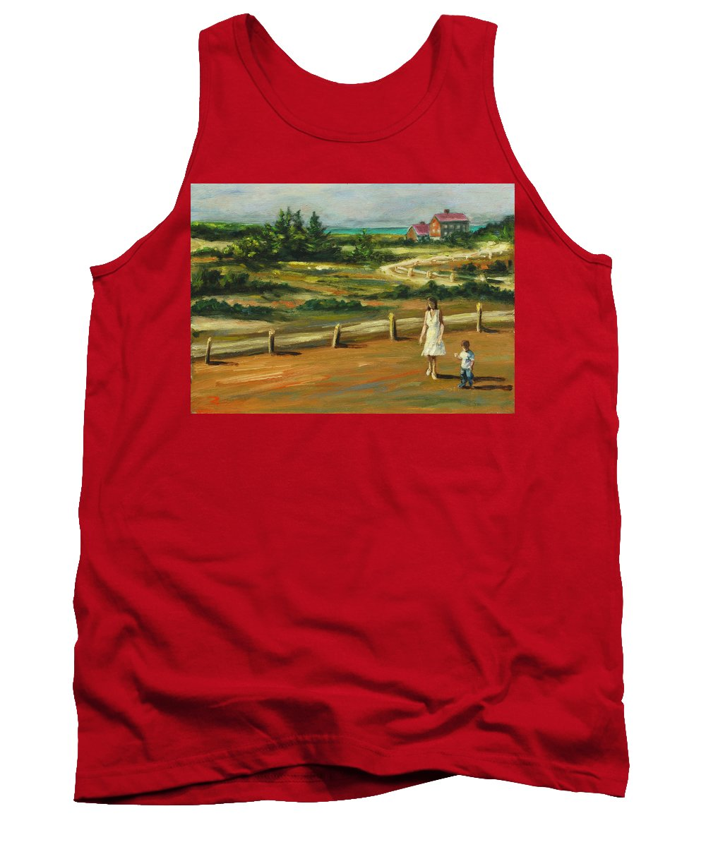 Family Tank Top featuring the painting Mother And Child by Rick Nederlof