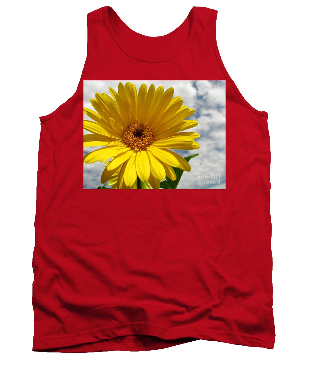Floral Tank Top featuring the photograph Motivation by Amanda Barcon