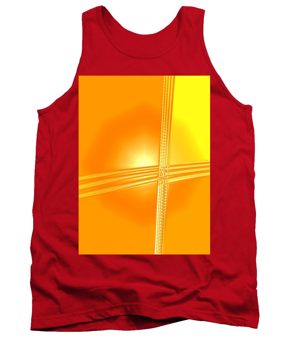 Moveonart! Digital Gallery Tank Top featuring the digital art Moveonart Shift In Time One by Jacob Kanduch
