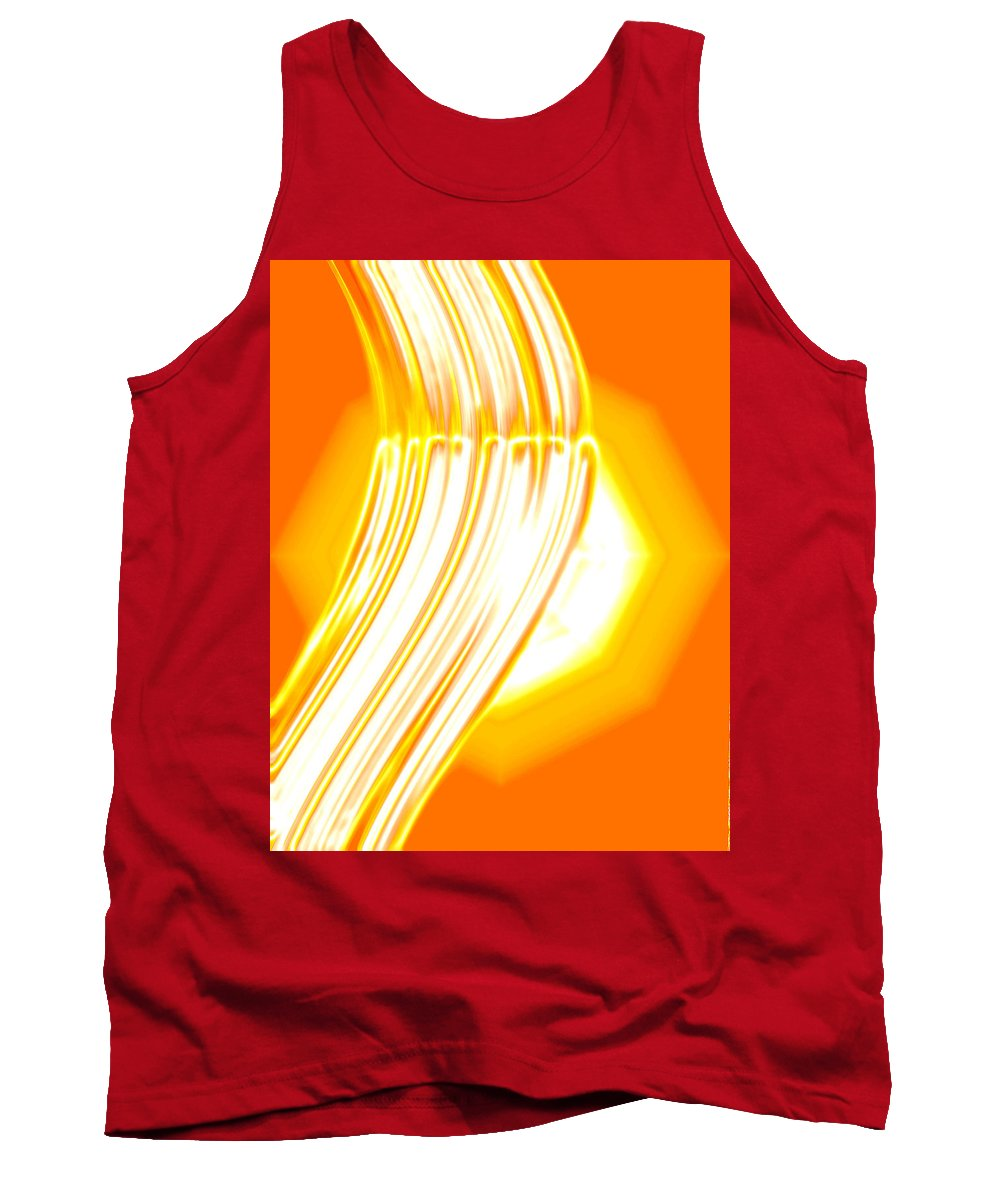 Moveonart! Digital Gallery Tank Top featuring the digital art Moveonart Time For Transformation by Jacob Kanduch