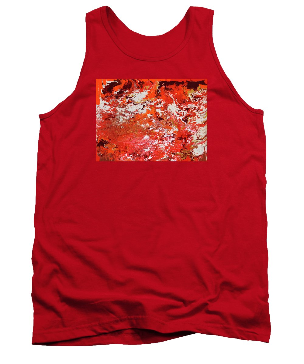 Fusionart Tank Top featuring the painting Mustang by Ralph White