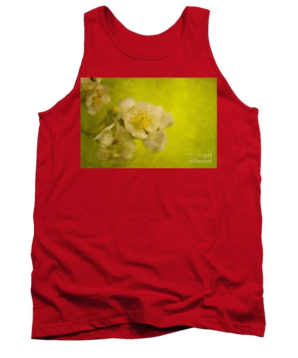 Rose Tank Top featuring the photograph My Sweet Wild Rose by Lois Bryan