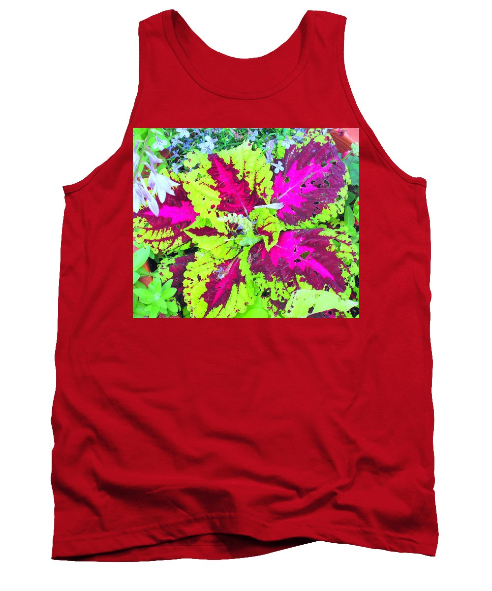 Flower Tank Top featuring the photograph Natural Abstraction by Ian MacDonald