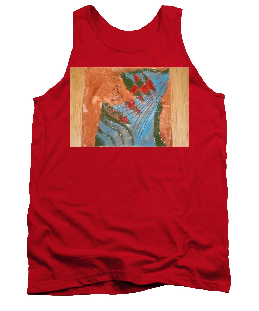 Jesus Tank Top featuring the ceramic art Need More Candy - Tile by Gloria Ssali